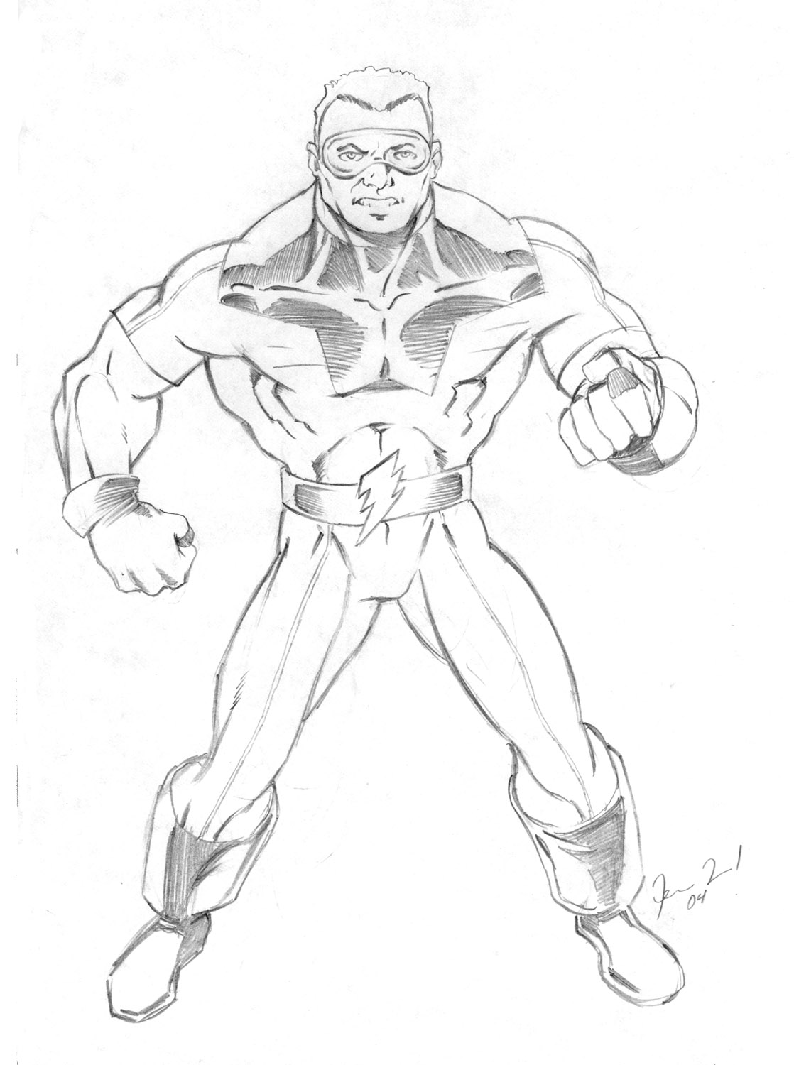 Thunder Man Coloring Pages Coloring